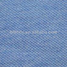 Buena calidad de la camisa de polo simple o doble 100% de punto piqué de algodón tela