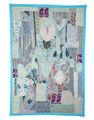 Tapices barato, hecho a mano patchwork tapiz, tapices de la india