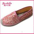 yute luzhilv alpargata de suela de zapato de lona alpargata zapatos