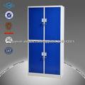 Mejor venta de moda de estilo de color azul de 4 puertas closets