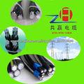 dúplex cuadruplex 0.6/1kv cable paquete aéreo baja tensión