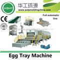 buena máquina para hacer la bandeja del huevo caja de cartón de huevo el uso de residuos de papel