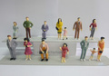 1:25 mini de plástico modelo de color para figuras a escala arquitectónica de la disposición modelo/el diseño del paisaje