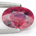 0.88 ct. Fabuloso rojo sin calefacción ruby piedras preciosas con certificar glc