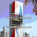 O tipo de elevador estacionamento torre( tipo tandem)