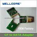 Wellcore CF a SATA adaptador