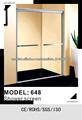 Producto de China!!!puertas de cristal para duchas/ruedas de cojinete de la puerta de ducha