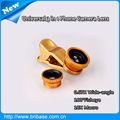 Clip universal 3 1 en la teléfono móvil lente de la cámara/lente de zoom para el teléfono móvil lente multicolor