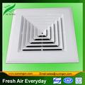 difusor de aire de plástico rejilla de ventilación