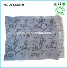 impresión de la moda pañuelo de los hombres