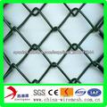 Plástico revestido valla de tela metálica