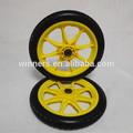 14'' 8 radios de plástico de la espuma de la pu de la rueda, rueda de la bicicleta
