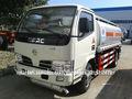 Dongfeng 4- 5m3 camiones tanque de combustible de los fabricantes