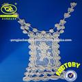 ( yjc15625- 4) fábrica de ganchillo de algodón cordón chaleco