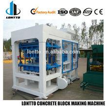 Qt6-15 moldes de caucho para el hormigón de la máquina del bloque