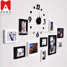la forma del árbol de metal marco de fotos conjunto 11p marco de la foto del bebé de primer año de marco de fotos