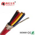 cable de la alarma en núcleos 4