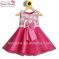 de flores de tul vestido de niña de corea patrón de la moda de verano 2014 vestido de fantasía niños vestido de fotos
