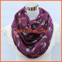 Nueva bufanda de la impresión de los animales de poliéster de moda del caballo,estolas , Pashmina mantón , cabo, tippet