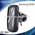 Anti- la vibración del manillar a prueba de agua caja de montaje en bicicleta para samsung s3& s4