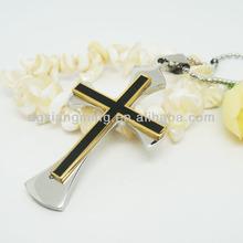 clásico estilo de dios de jesús cruz colgante chapado en oro colgante de joyería