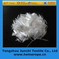 Primas 18mm white100% de polipropileno de alta tenacidad pp de fibra para el hormigón