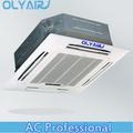 Olyair t1/t3 50hz/60hz super slim ronda de flujo de cassette de techo aire acondicionado inverter/disponible de encendido y apag