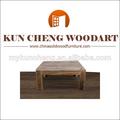 mobiliariodesala y tipo de madera maciza mesa de café de uso específico del cubo de madera mesa nido