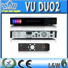 Sintonizador blackhole2.1 gemelas que comparten internet dvb s2 tv engima2 linux receptor SOLO2 Vu y Vu DUO2 para Europa
