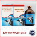 multivitamínico inyectable para los medicamentos veterinarios