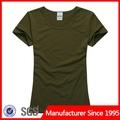 Camuflaje t- shirt/militar t- shirt/militar verde t- shirt