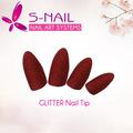 nueva brillo de uñas de acrílico consejos al por mayor de suministros de uñas