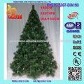 Luxo plástico Pine Needle Artificial Árvores de Natal de 5 metros, 6 Foot 7 ou árvores Pé Estilo Colorado
