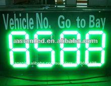 ali express de shenzhen asram de alta tecnología led precio de gas digital de señal