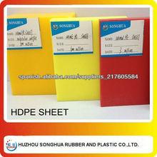 Chapa de 1mm de HDPE
