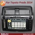 estéreo del coche de navegación gps para toyota prado 2014