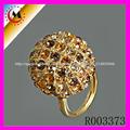 diseños del anillo de oro al por mayor del alibaba China
