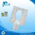 Viajes de asiento del inodoro cubierta de papel, al aire libre de la cubierta del asiento