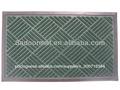 loop baixa de superfície com revestimento protetor de borracha da porta chinês tapete