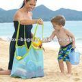 de malla de la bolsa de arena para el embalaje de los juguetes
