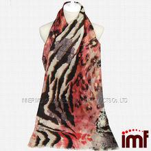 paisley de impresión cachemira siento bufanda de lana