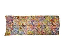 100% Cashmere Digital impresión Paisley bufanda