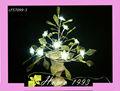 las luces de neón para habitaciones con la flor