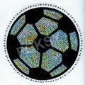 transferencia de lentejuelas de fútbol