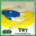 Farmacéuticos de uso médico pvc tela cinta de medir, cinta de medir,promocional cinta métrica, cinta métrica a medida