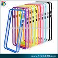venta caliente en el mercado de eeuu claro caso de parachoques para el iphone 6 plus