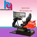 la máquina coche de carreras de 3 simulador arcade pantalla de nuevo diseño de movimiento 4d