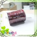 1mm trenzado del cordón de cera para la decoración