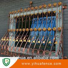 yihua artística barandillas de hierro forjado