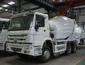 2014 MEJOR PRECIO HOWO 6X4 camion mezclador de concreto 8M3 PARA SUR AMERICA
